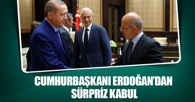Erdoğan, TÜSİAD Başkanı Symes ve beraberindeki heyeti kabul etti