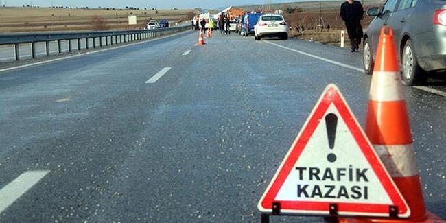 Osmaniye'de trafik kazası: 1 ölü 2 yaralı