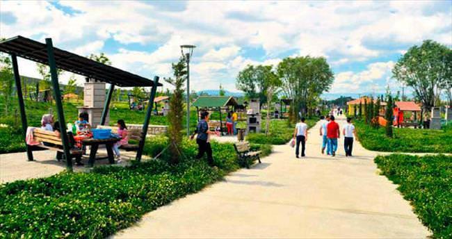 Ankaralılar mesire alanına akın ediyor