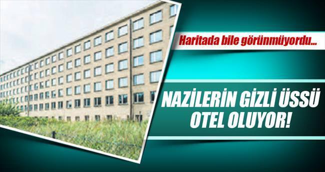 Naziler'in gizli üssü 2022'de otel oluyor