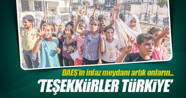 'Teşekkürler Türkiye'