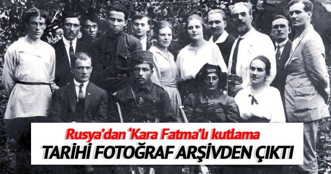 Rusya'dan 30 Ağustos'ta 'Kara Fatma'lı kutlama