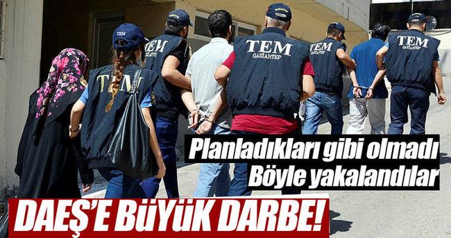 DAEŞ'in bombacı organizatörleri yakalandı