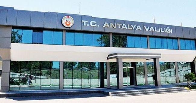 Antalya Valiliği açıkladı! İşte toplam sayı