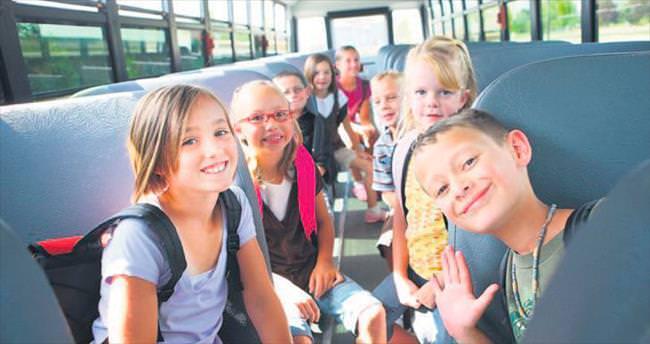 Güvenle okul yolunda