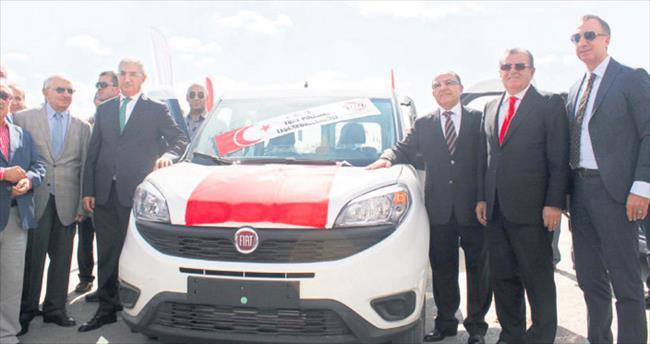 Ato'dan Ankara Emniyeti hizmetine 211 araç