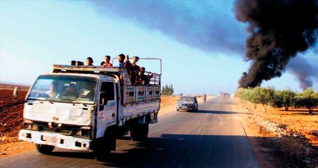 Suriyeli muhalifler Hama'da ilerliyor