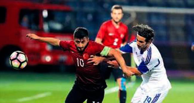 Ümitler Ankara'da gergin maçı kaybetti