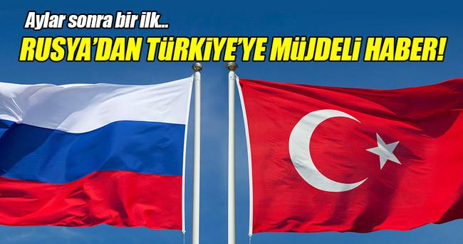 Rusya'dan Türkiye'ye ilk charter uçağı yola çıktı!