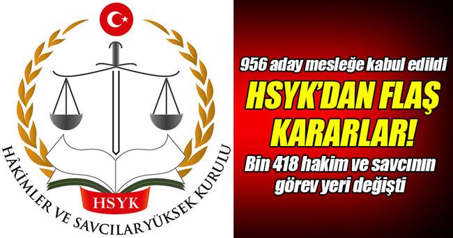 HSYK'dan yeni hakim ve savcı alımı!