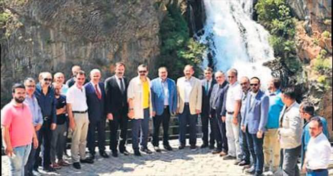 Kapuzbaşı Şelaleleri dünya turizmine kazandırılacak