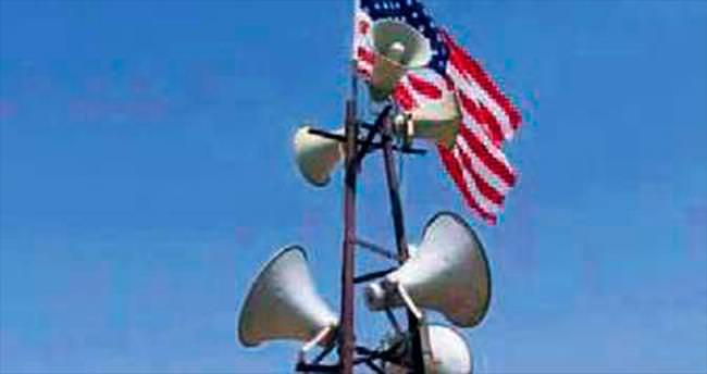 ABD bayrağını kalkan yapıyorlar