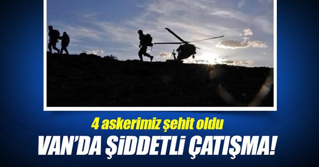 Tendürek Dağı'nda şiddetli çatışma!