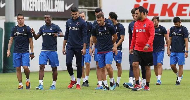 Trabzonspor Osmanlıspor maçına hazırlanıyor