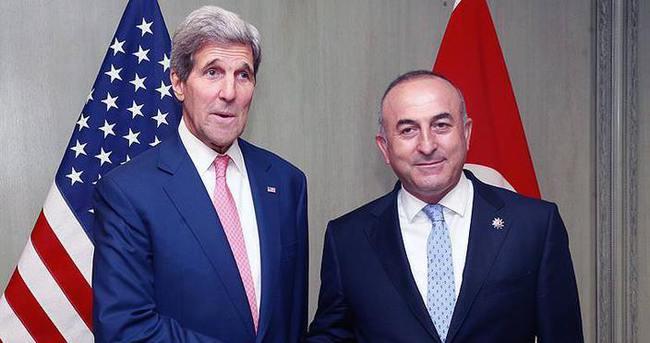 Çavuşoğlu: Kerry ile FETÖ ve iade süreci ile Suriye ve Irak'taki gelişmeleri ele aldık