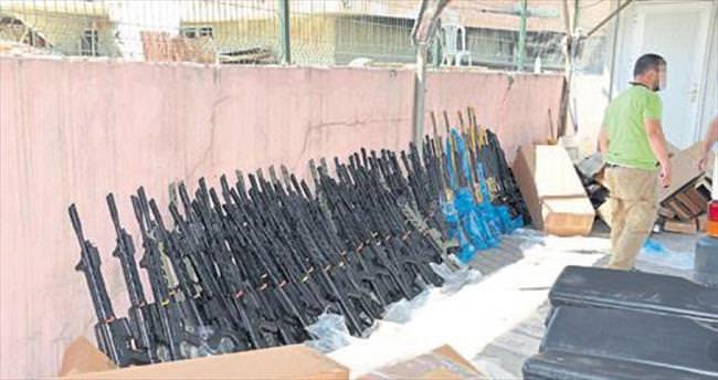 87 av tüfeği ele geçti