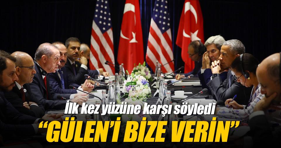 Erdoğan: Temennimiz güneyimizde bir terör koridoru oluşmasın
