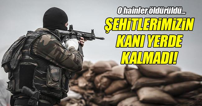 PKK'lı 2 hain öldürüldü!