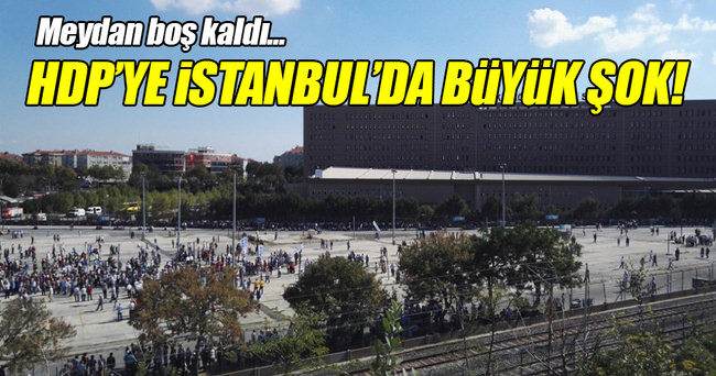HDP'ye İstanbul'da büyük şok!