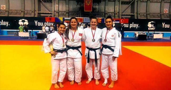 Judocularımızdan 4 madalya geldi