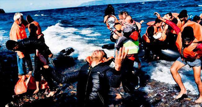 Büyük fotoğraf ödülü de mültecilere gitti