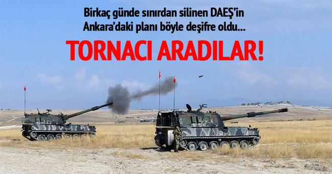 DAEŞ militanları Ankara'da tornacı aradı