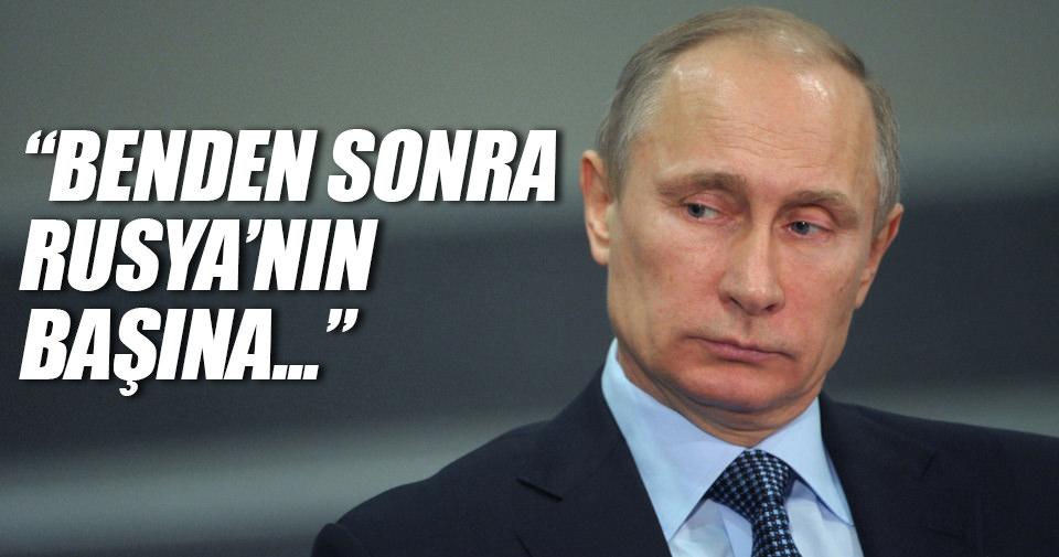 Vladimir Putin'den yeni Rusya lideri açıklaması