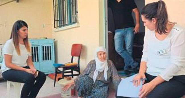 Yunusemre Sosyal Doku ekibi çalışıyor