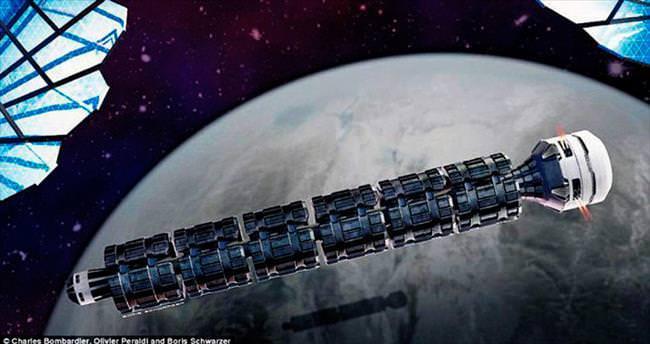 'Uzay treni'yle 37 saatte Mars