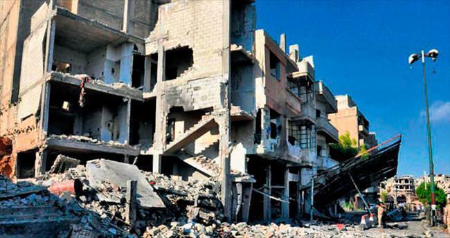Suriye'de 6 bombalı saldırı: 54 ölü
