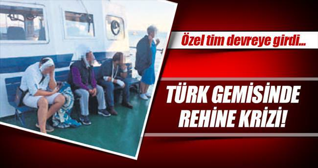 Ukrayna'da Türk gemisinde rehine krizi