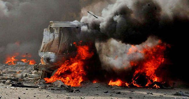 Irak'ta bombalı saldırı: Ölüler var
