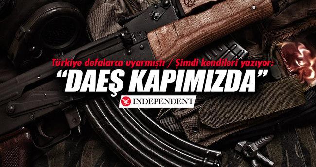 Independent: DAEŞ Avrupa kapılarında