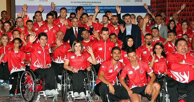 Rio'da paralimpik sporcular sahne alacak