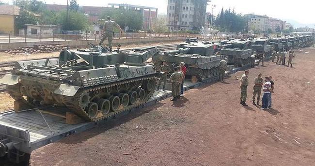 Askeri birliklerinin şehir dışına taşınması devam ediyor