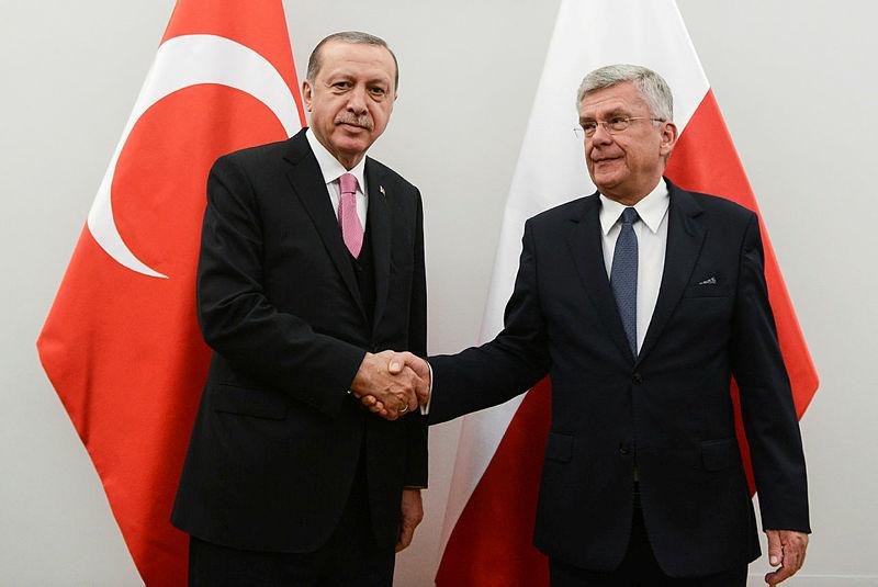 Cumhurbaşkanı Erdoğan Stanislaw Karczewski'yi kabul etti