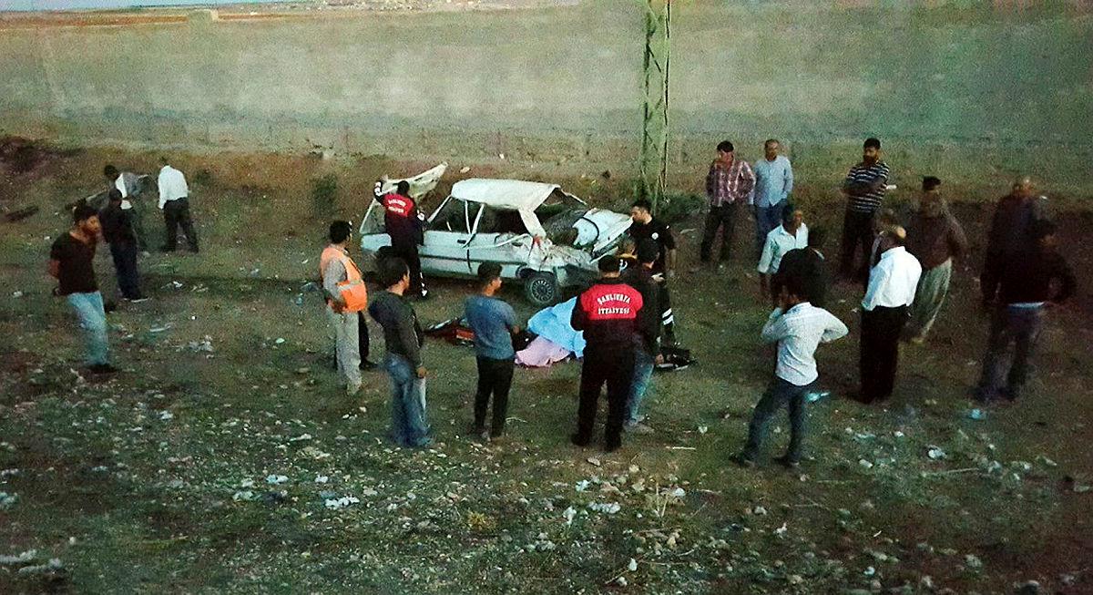 Şanlıurfa'da otomobil devrildi 1 ölü 5 yaralı