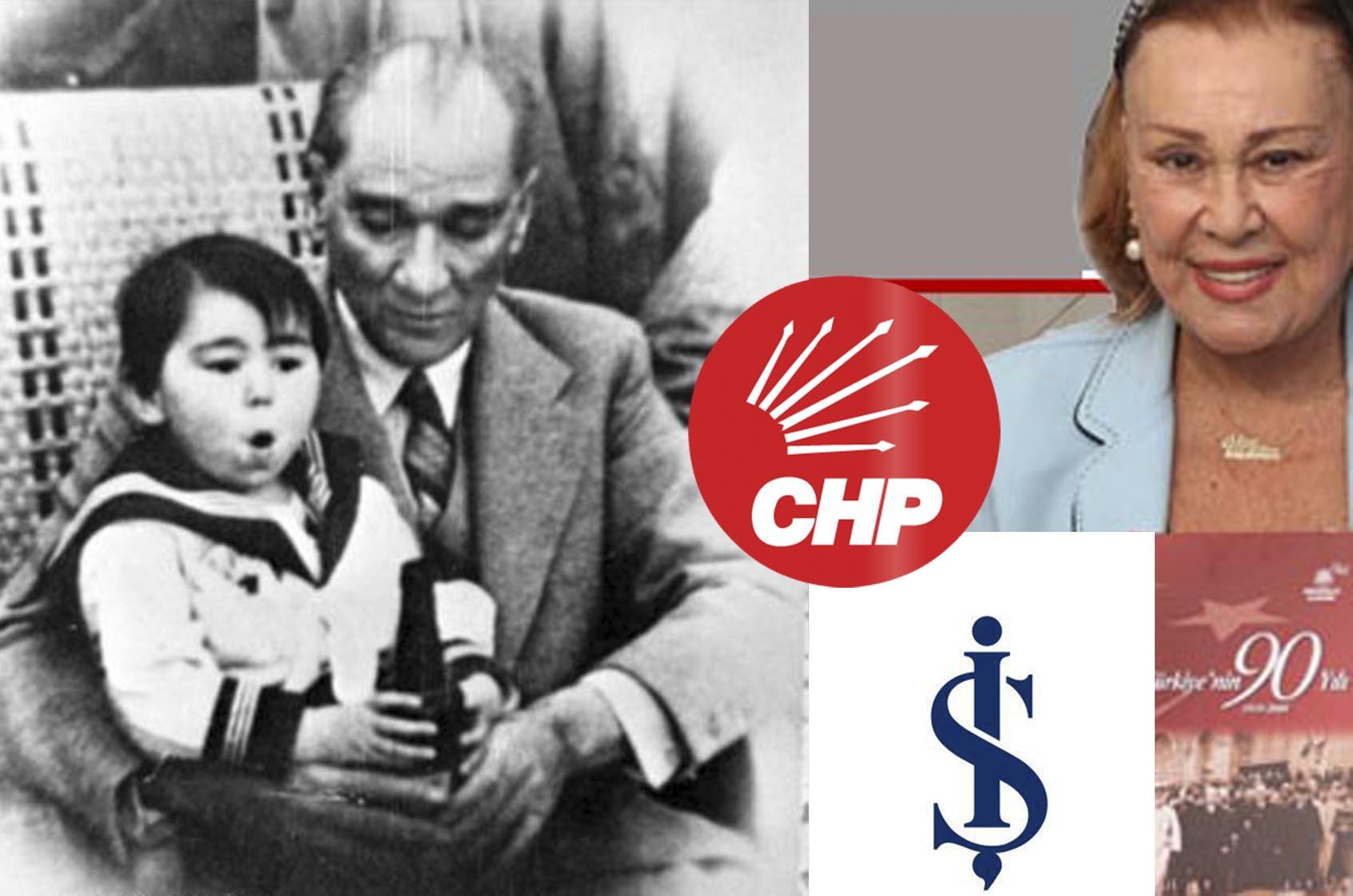 Ülkü Adatepe'nin çocuklarından İŞ Bankası ve CHP ye miras ve