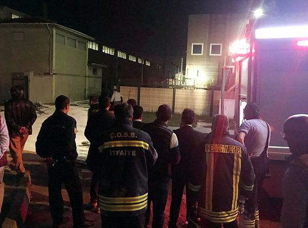 Çerkezköy OSB'de patlama 2'si ağır 9 kişi yaralı