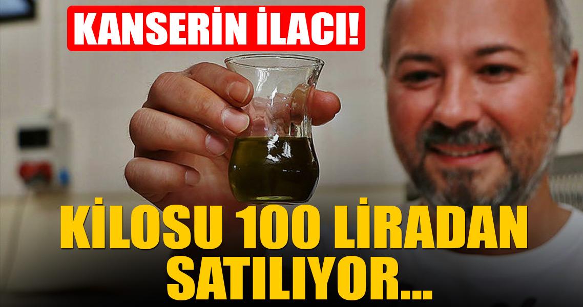 Kanserin ilacı Kilosu 100 liradan satılıyor