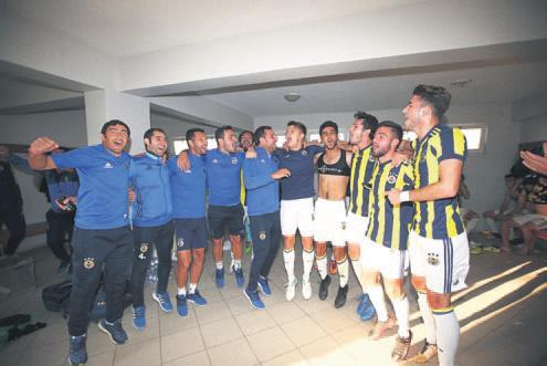 U21 derbisi F Bahçe nin