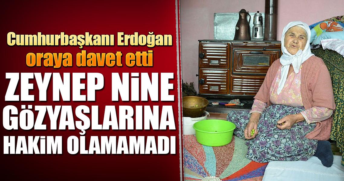 Zeynep nine Erdoğan ın misafiri olacak