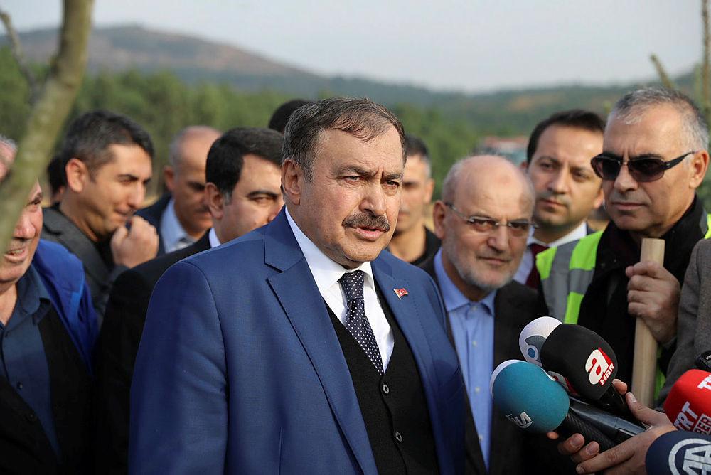 Bakan Eroğlu: İstanbul'un alanının yüzde 44'ü orman