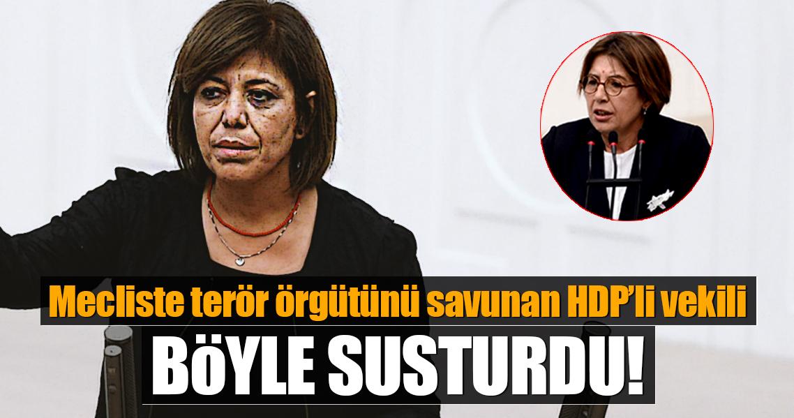 HDP'li vekilin skandal sözlerine mecliste tepki!