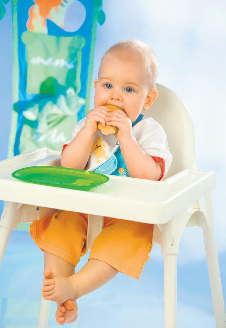 6 aydan küçük bebeklere unlu gıda yedirmeyin!