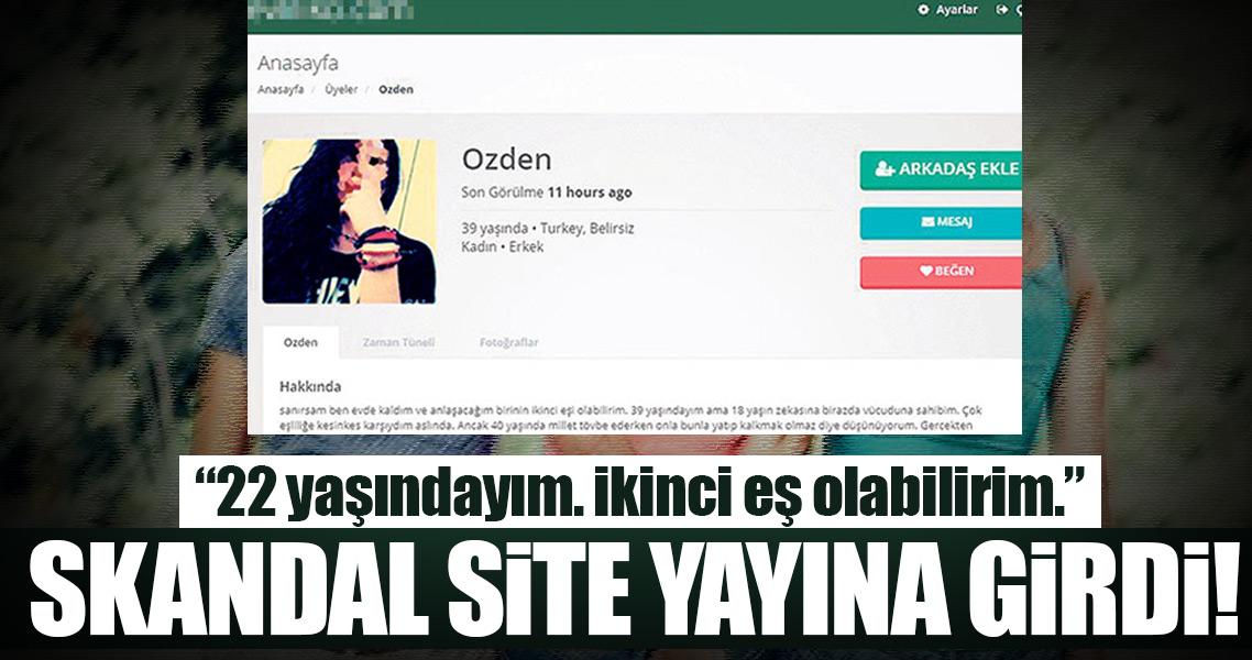 Skandal site Türkiye'de de açıldı!