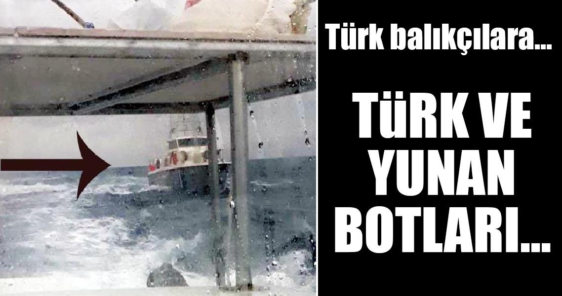 Ege'de Türk ve Yunan botları arasında sıcak anlar