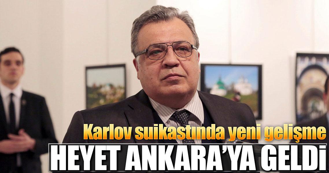 Rus heyet Ankara Cumhuriyet Başsavcılığı'na geldi