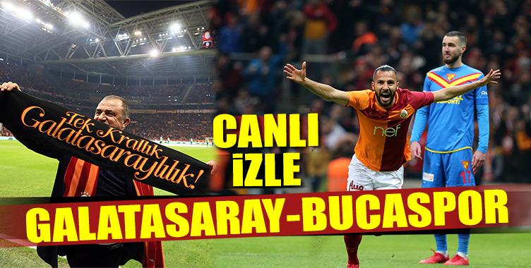 Galatasaray-Bucaspor maçı canlı izle hangi kanalda, saat kaçta? (Muhtemel 11'ler)