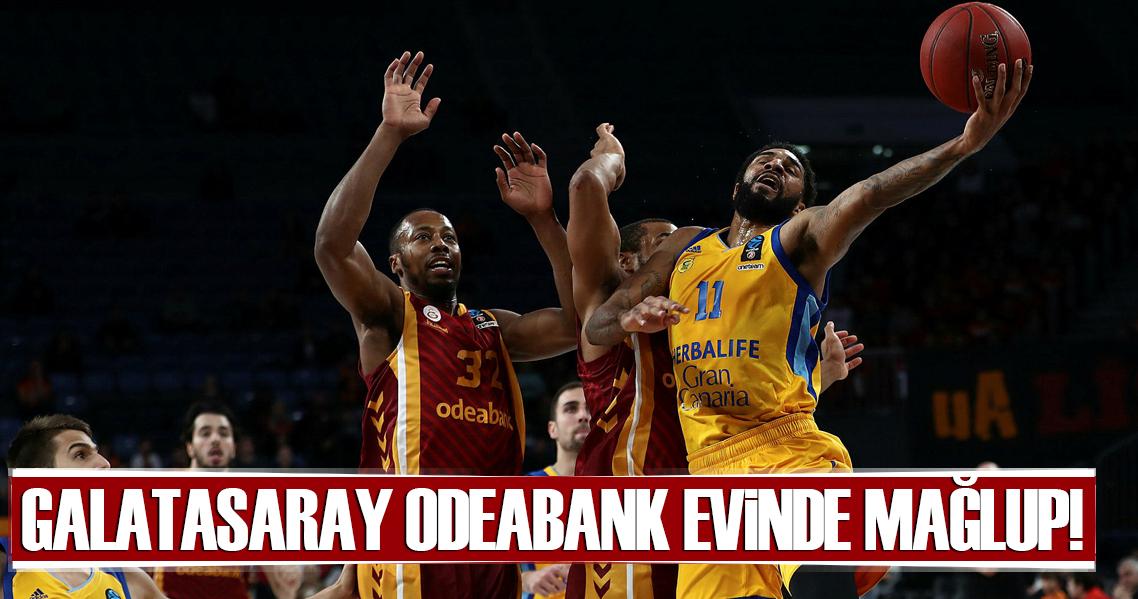 Galatasaray Odeabank evinde mağlup